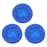 HEALIFTY Disposable Rubber Mouth Opener Dental Sterile Oral Cheek Expanders Retractor Dam Mouth Opener (3Pcs Blue)
