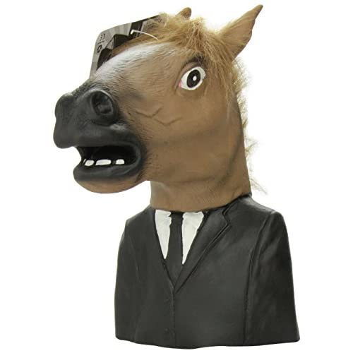 Accoutrements Creepy Horse Man Hand Puppet