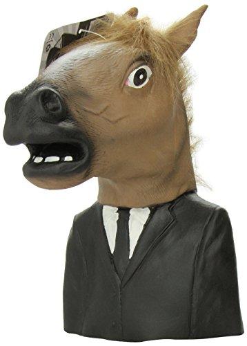 Archie McPhee Creepy Horse Man Hand Puppet (Horse Hand Puppet)