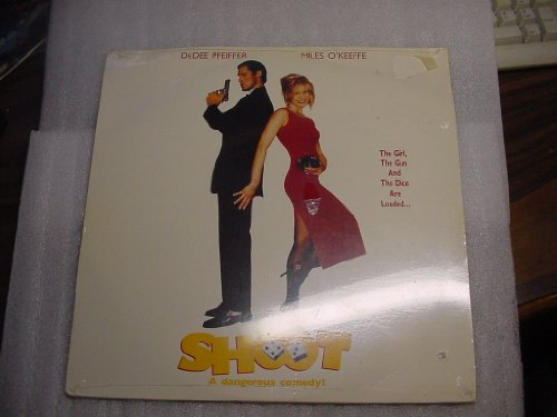 Laser Disc, Laserdisc of SHOOT a Dangerous Comedy. With DeDee Pfeiffer, Miles O'Keeffe, and Christopher Atkins.