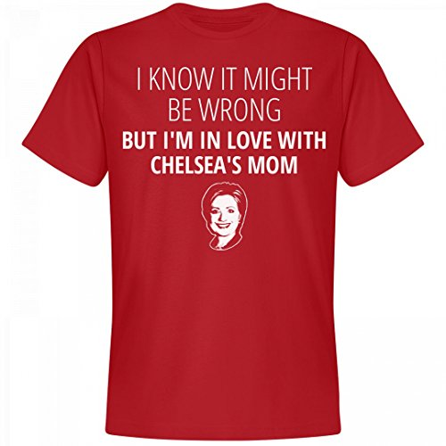 Chelsea's Mom Funny Hillary 2016: Unisex Next Level Premium T-Shirt