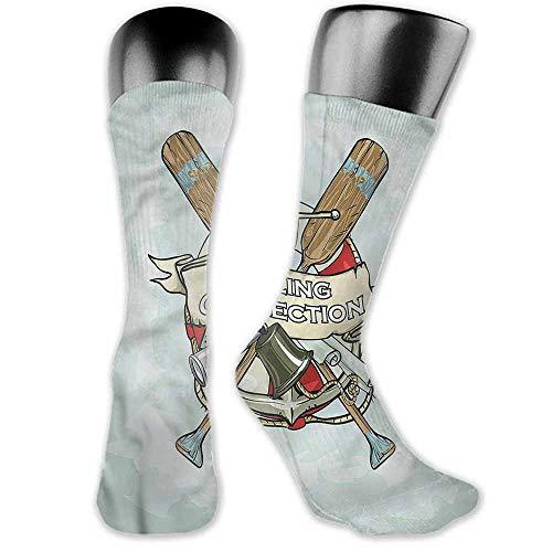 Hip Hop Street Style Sock Nautical,Yacht Club Antiques,socks women low cut (Yacht Antique)