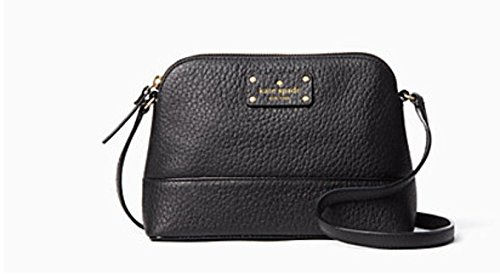 Kate Spade Bay Street Hanna Cross Body Handbag (Black)