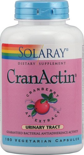 (Solaray CranActin® Cranberry AF? Extract -- 180 Vegetarian Capsules - 2pc)
