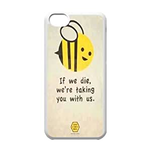 CHENGUOHONG Phone CaseHoney Bee Art Design For Iphone 5c -PATTERN-20