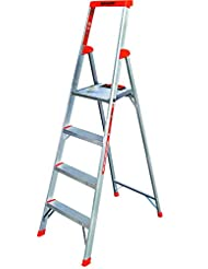 Flip-N-Lite 300-Pound Duty Rating 6-foot Stepladder with Plat...