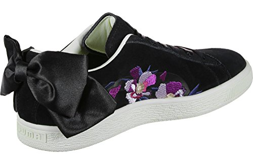 Suede Bow Flowery Shoes W Black Puma xY8Tqx