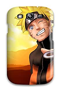 Galaxy Cover Case - Free Sunny Naruto 90396 Protective Case Compatibel With Galaxy S3