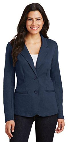 Port Authority Ladies Knit Blazer, Deep Navy, Small