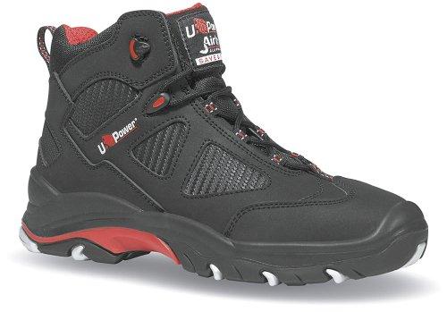 POWER U de ENGINE Rouge homme Noir pour Noir sécurité Chaussures rrPF5dwq