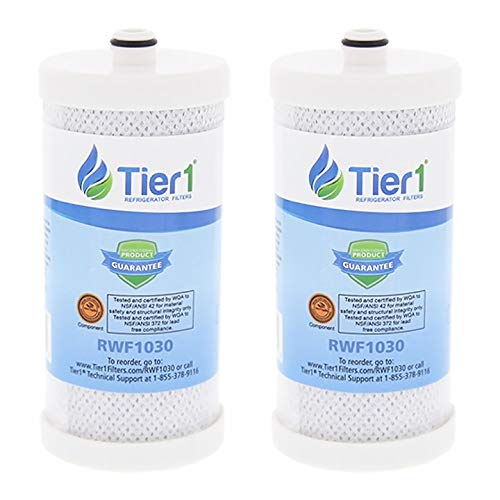 Tier1 Replacement for Frigidaire WF1CB PureSource, WFCB, RG100, WF284, NGR2000, Kenmore 469906, 469910 Refrigerator Water Filter 2 - Puresource Rg100