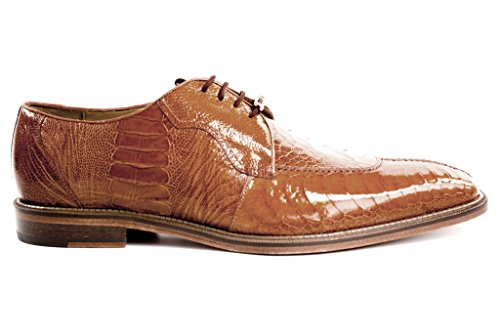 Belvedere Men's Siena Lace-Up,Burned Amber,11 M US