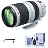 Canon EF 100-400mm f/4.5-5.6L is II USM (Image Stabilized) Zoom Lens - U.S.A. - Includes Cleaning Kit, Capleash II
