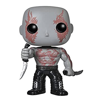 Funko POP Marvel: Guardians of The Galaxy - Drax Vinyl Bobble-Head Figure: Funko Pop! Marvel: Toys & Games