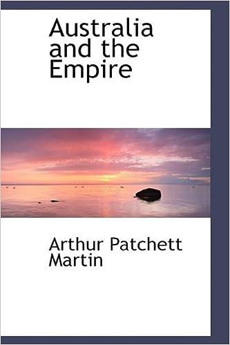 Book Australia and the Empire