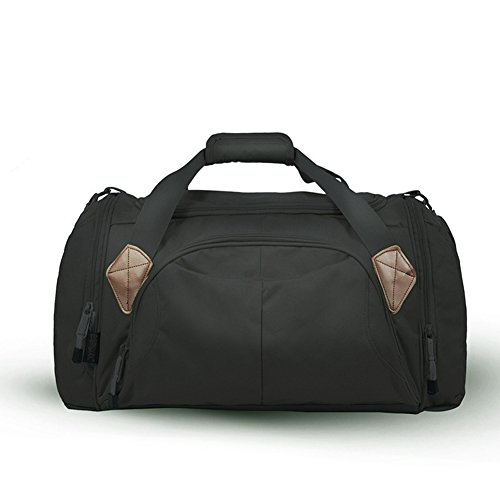 Generic Outdoor Sport Reisetasche mountineering Tote Taschen 45L schwarz - schwarz sn5tB