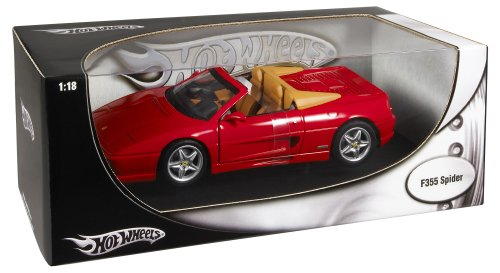 Hot Hot Hot Wheels Foundation Ferrari F355 Spider rot 823ebf
