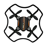 Gbell F19 Mini Drone for Kids Adults- Aititude Hold Smart Voice Quadcopter 2.4G 4CH 6AXIS RC Helicopter for Beginners,Birthday Christmas New Year Gifts,Green Orange (Orange)