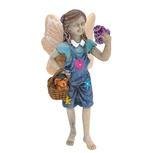 Miniature Fairy Garden Limited Edition Fairy Maggie and Toby