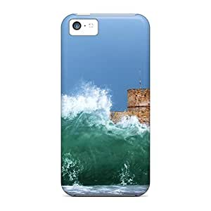Durable Protector Case Cover With Water Spray Hot Design For Iphone 5c