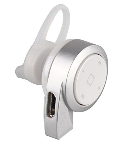 JMD S68 in The Ear Wireless with Mic Mini Bluetooth Headset   Silver