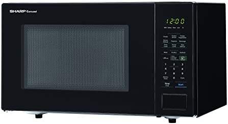 Sharp Carousel 1.4 Cu. Ft. 1000W Countertop Microwave Oven with Orville Redenbachers Popcorn Preset (ISTA 6 Packaging)