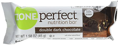Zone Perfect  Double Dark  Chocolate Nutrition Bars  1.58 Ounce  Each (1 Pack of 5 Bars) (Sweet Zone Perfect)