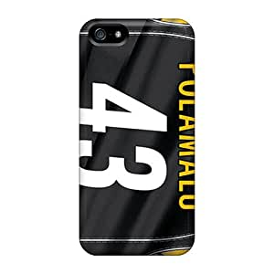 New DoriCallow Super Strong Pittsburgh Steelers Cases Covers For Iphone 5/5s