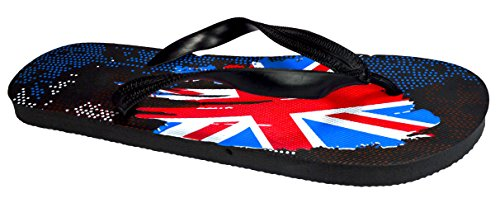 Styles Various Union Beach amp; Collection Urban Design OCTAVE® Flops Summer Flip Paint Jack Colours Black Wear Mens pnn0q8wT