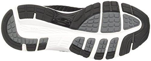 para Mujer Carbon de 2 Dynaflyte White Black Zapatillas Negro Entrenamiento Asics q71YXwfxw