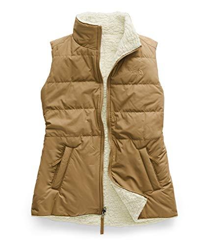 The North Face Women's Merriewood Reversible Vest, Cedar Brown/Vintage White, Medium (Patagonia Stretch Vest)