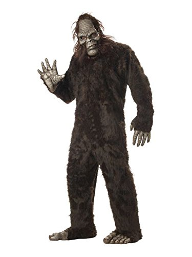 California Costumes Men's Big Foot,Dark Brown,One Size
