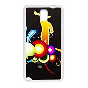 Creative Graffiti Pattern Custom Protective Hard Phone Cae For Samsung Galaxy Note3