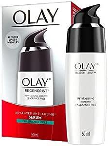 Olay Regenerist Advanced Anti-Ageing Revitalising Serum Fragrance Free 50mL