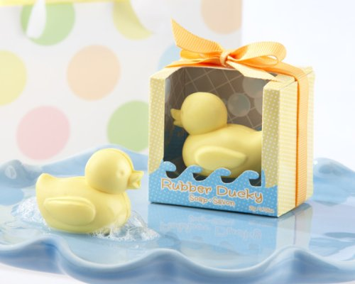 Kate Aspen Rubber Ducky Soap (Set of 24) | Guest Gifts, Party Souvenirs, Party Favor or Decorations for Bridal Showers, Bachelorette Parties, Birthday Parties, Wedding Favors & More