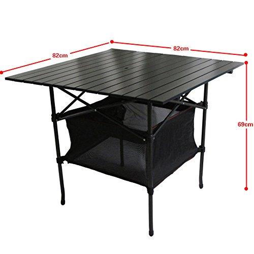 mccaluminium im freien tisch tragbare klapptisch und. Black Bedroom Furniture Sets. Home Design Ideas
