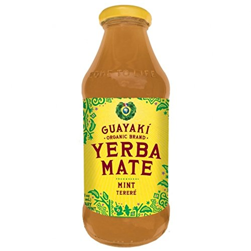 Yerba Mate Mint (Guayaki Organic Yerba Mate, Pure Empower Mint, 16 Ounce (Pack of 12))