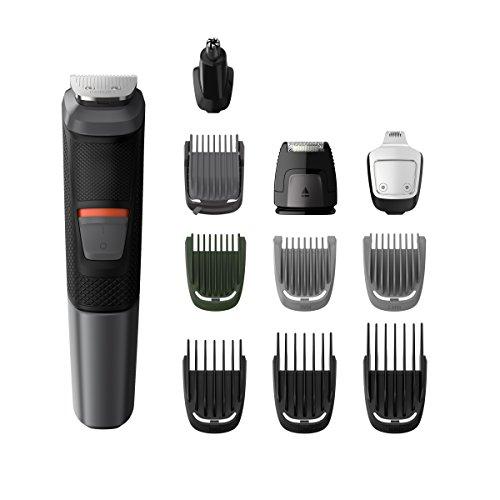 Philips MULTIGROOM Series 5000 MG5730/15 cortadora de pelo y maquinilla Negro, Gris Recargable - Afeitadora (Negro, Gris,...