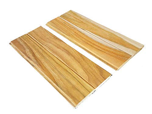 72 inch Long Teak Wood Tongue & Groove - one face All Heartwood, 40 Square feet