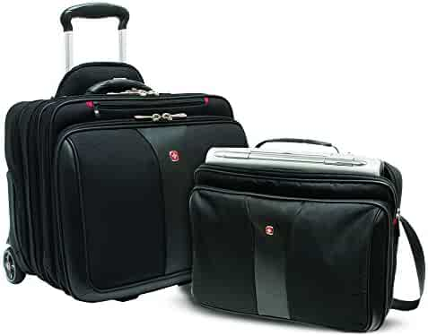 Wenger PATRIOT Rolling 2-Piece Business Set Notebook carrying case, 17