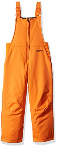 Arctix Infant-Toddler Chest High Snow Bib Overalls, Burnt Orange, 4T