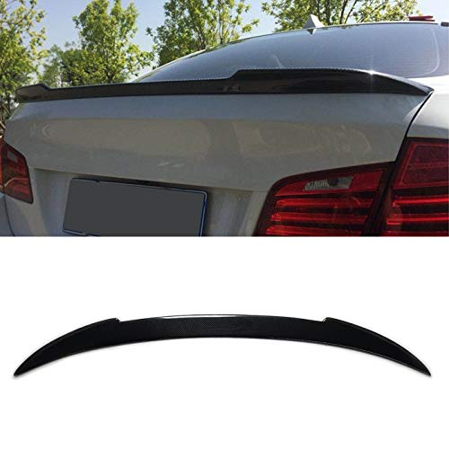 Carbon Fiber Rear Trunk Spoiler Wing Lip Fit for 2013-2018 BMW F30 3-Series 330i 335i 340i & F80 M3 Sedan 4DR ()