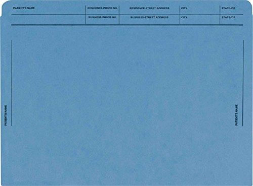 EGP Heavy Duty Colored File Envelopes Printed (Blue) by EGPChecks