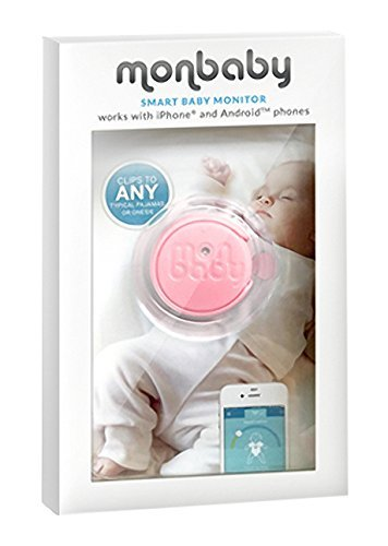 Baby Monitor for Breathing and Movement (Pink) from MonBaby