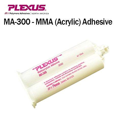 Plexus MA300 All Purpose High Strength 5-Minute MMA Adhesive (30500) 50ml/1.7oz Caulk Gun Adapter Kit by Plexus (Image #2)