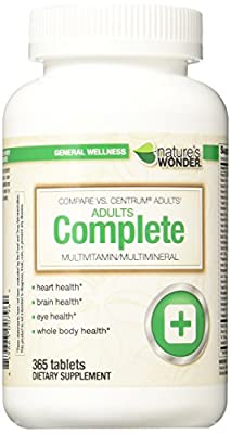 Nature's Wonder Adult Multivitamin