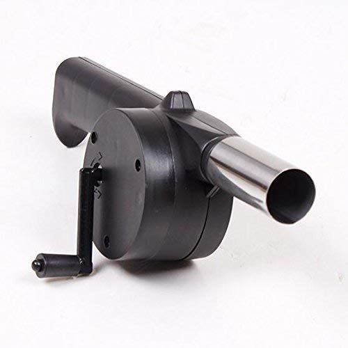 Mini Air Blower Fast Fire Starter for Charcoal Grill BBQ Campfire Fireplace