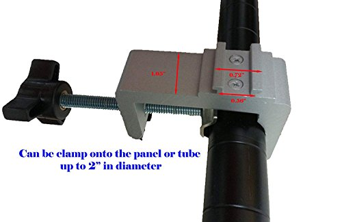 DSM Tm Premium C-clamp Adapter Converter for Pop up Tension Booth Display Light LED/Halogen
