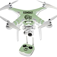 Skin For DJI Phantom 3 Professional – Combat Wombat | MightySkins Protective, Durable, and Unique Vinyl Decal wrap cover | Easy To Apply, Remove, and Change Styles | Made in the USA