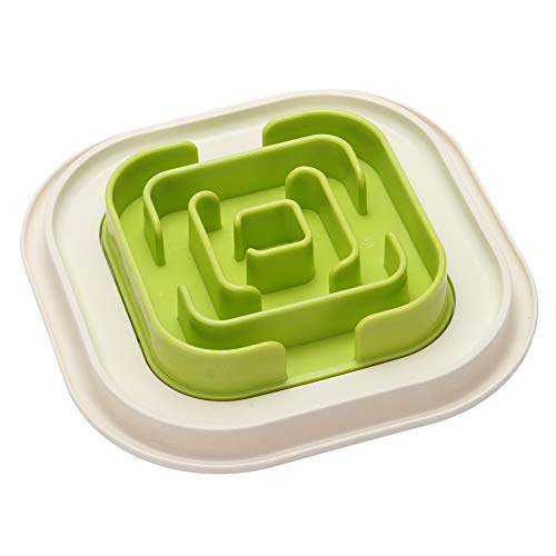 Dog Fun Slow Feeder Bowl Interactive Bloat Stop Cat Eco-Friendly Durable Food Bowls
